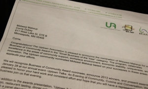 UA Letter